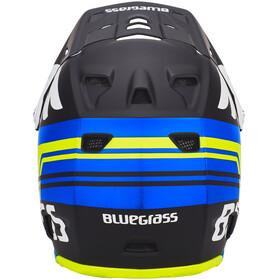 bluegrass Brave Fullface Helm black/cyan/fluo yellow